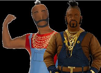 BA Baracus Kostuums