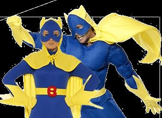 Bananaman Kostuum