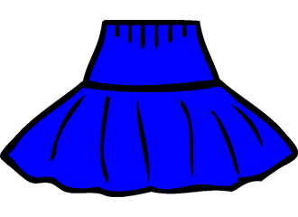 Blauwe Petticoats