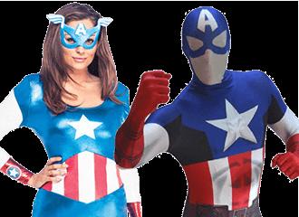Captain America Kostuum