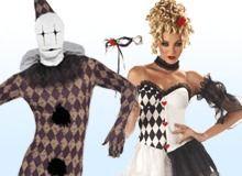 Harlequin Kostuum