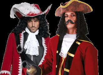 Kapitein Haak Kostuums