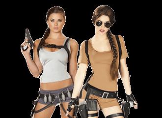 Lara Croft Kostuum