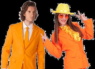 Oranje Feestkleding