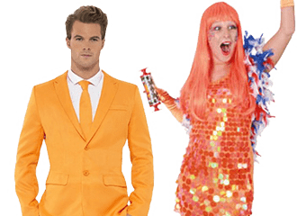 Oranje Kleding