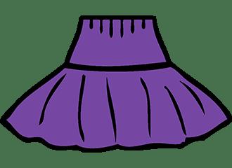 Paarse Petticoats