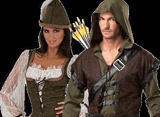 Robin Hood Kostuums