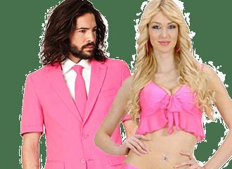 Roze Feestkleding