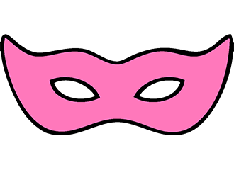 Roze Oogmaskers