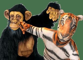 Safaridieren Kleding