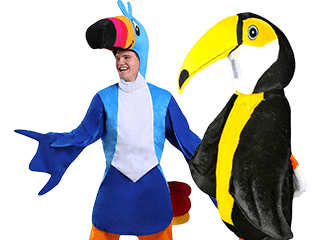 Toekan Kostuums