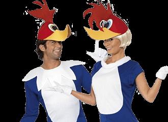 Woody Woodpecker Kostuums