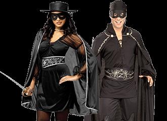 Zorro Kostuums