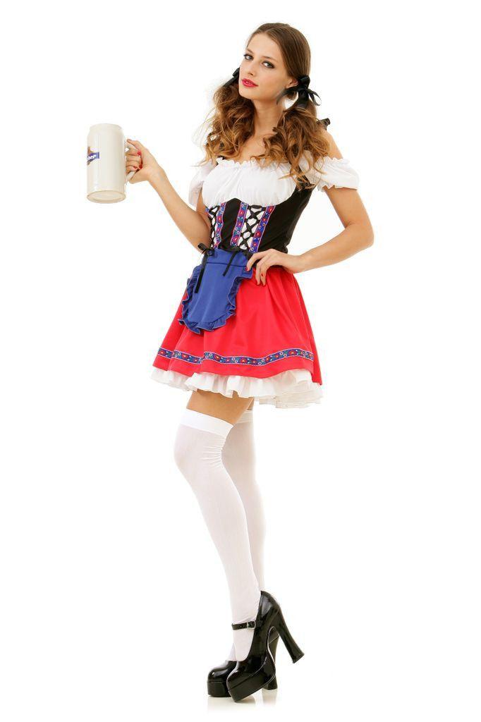 Bier Babe Ursula Vrouw Kostuum