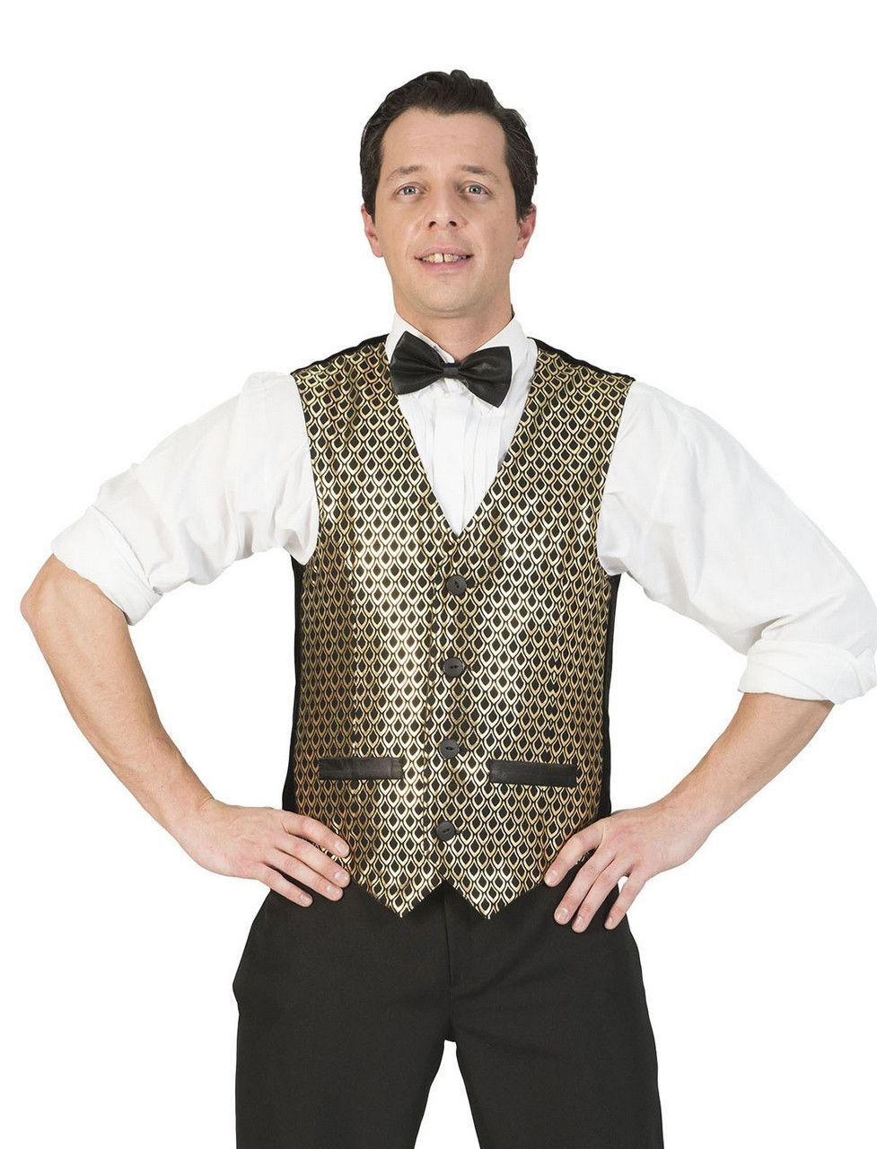 Disco Malienkolder Gilet Goud Man