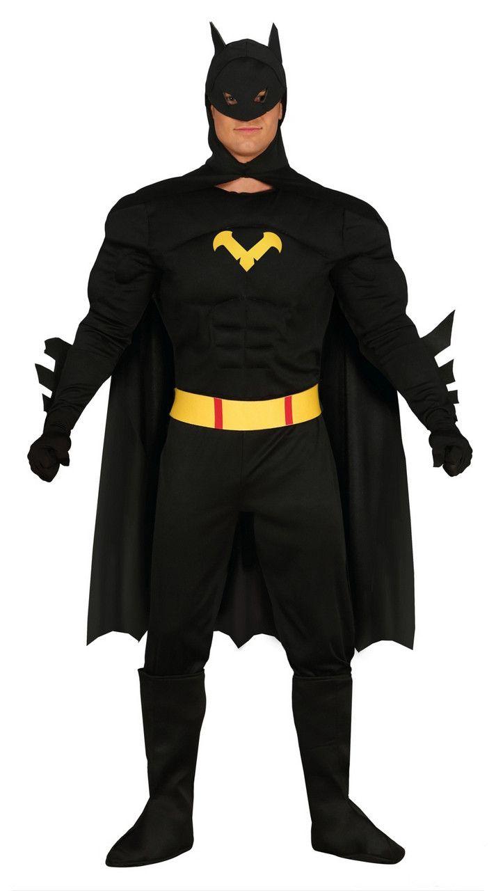 Zwart Batman Gotham Kostuum