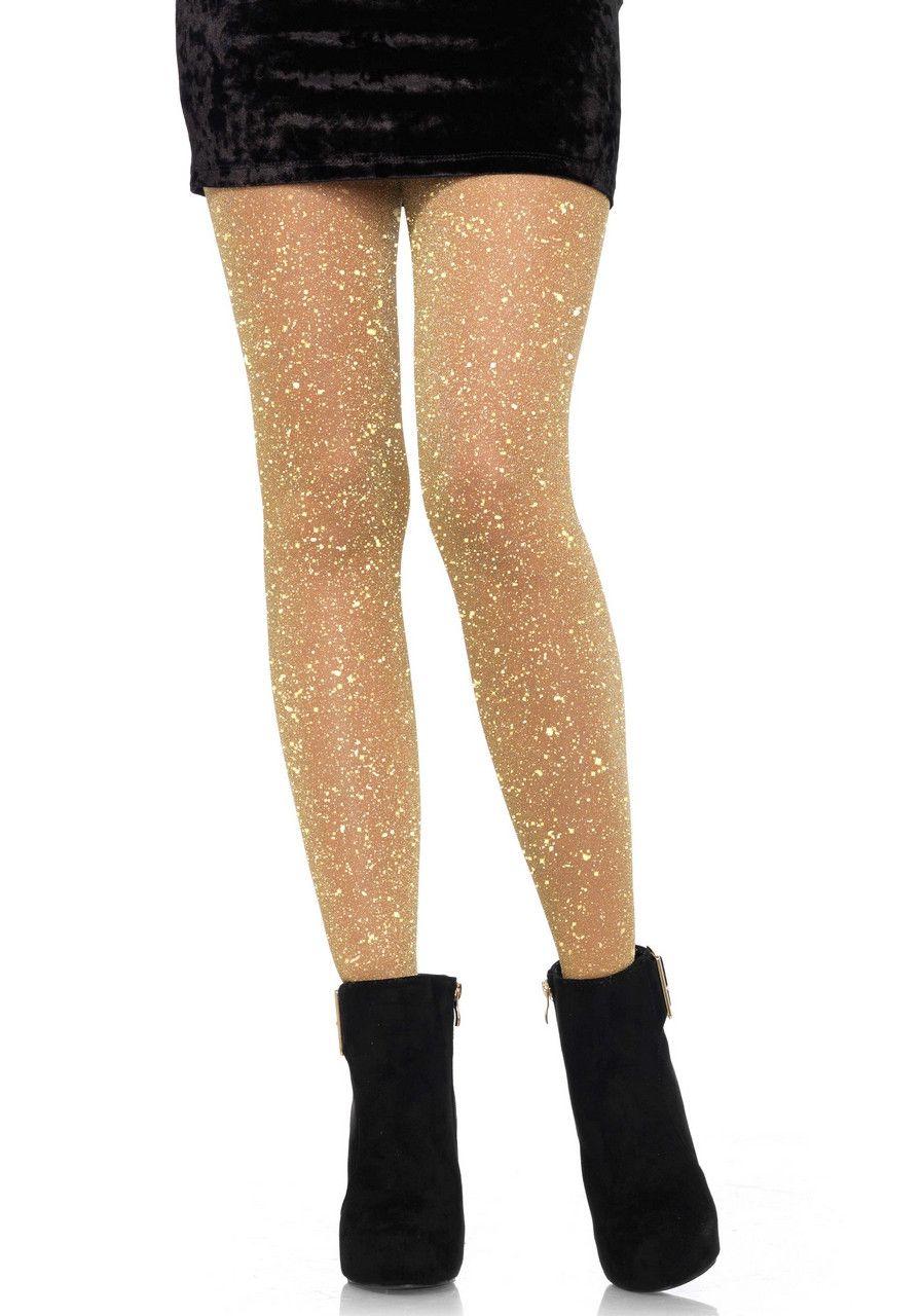 Glitter Panty Partygirl Nathalie Goud Licht