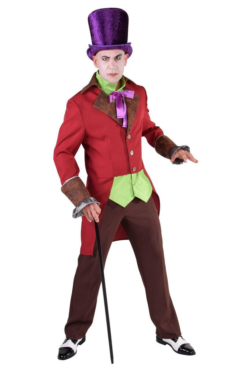 Bont Burlesque Steampunk Man Kostuum