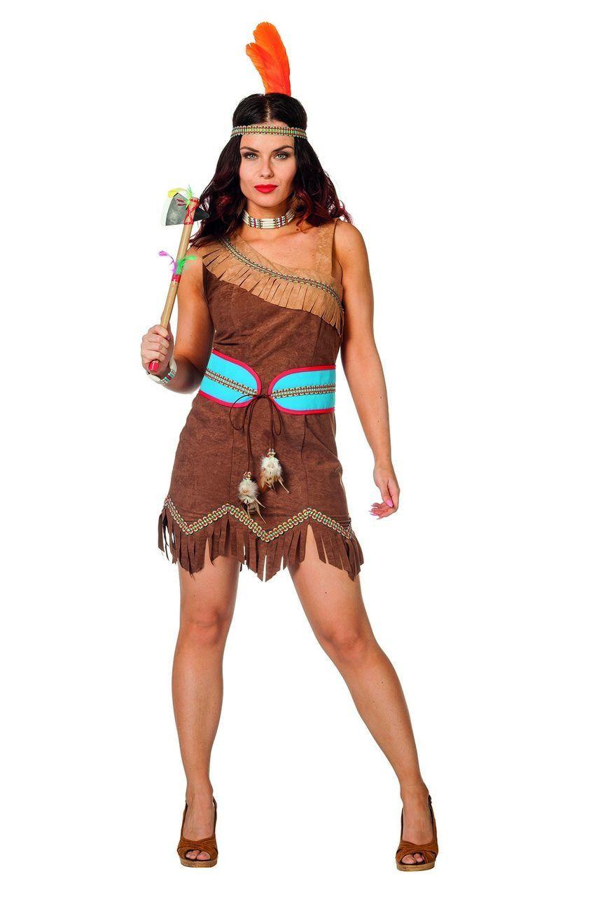Tubatulabal Indiaanse Squaw Vrouw Kostuum