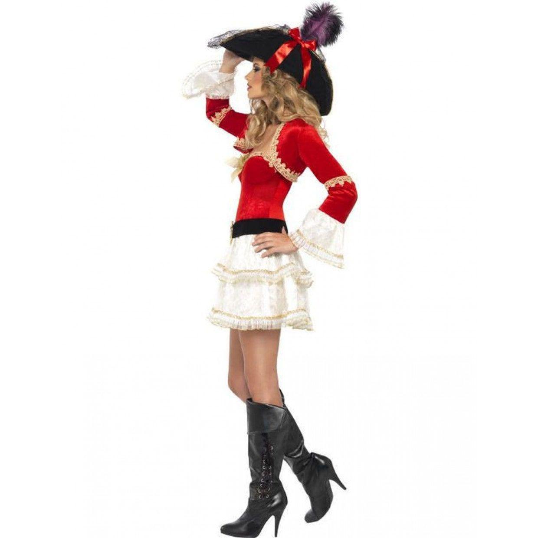 8641f100914 Sexy Pirate Vrouw Kostuum