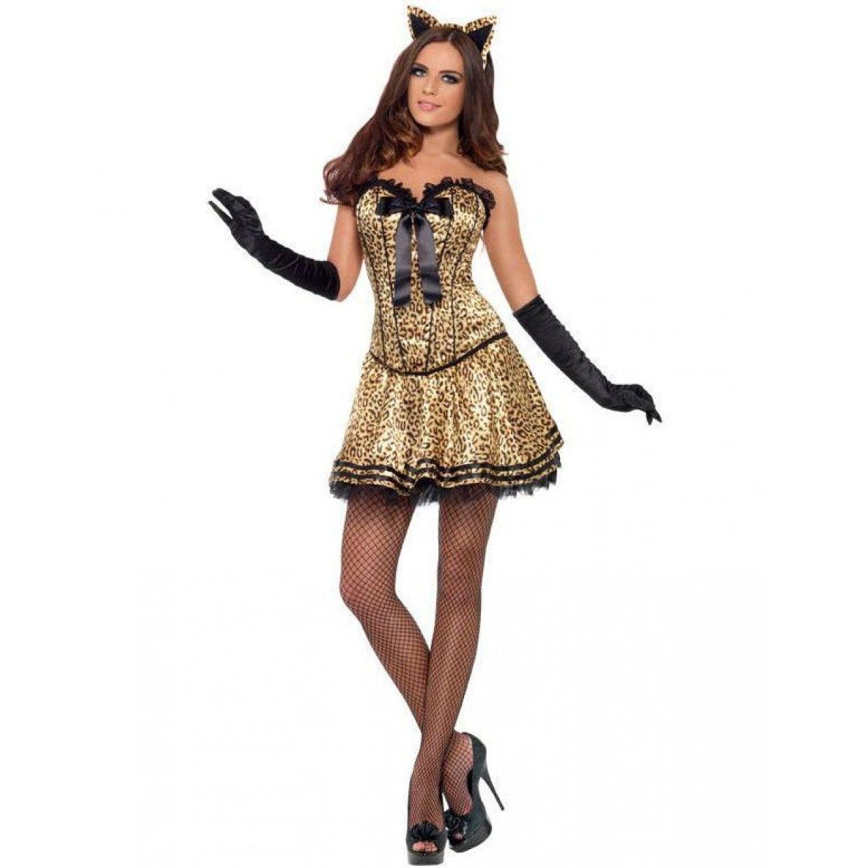 7e64924fe75 Vrouwelijke Kat Vrouw Kostuum