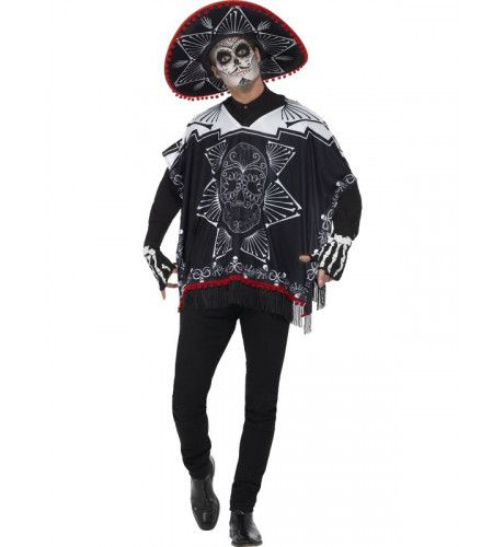 Day Of The Dead Bandido Kostuum