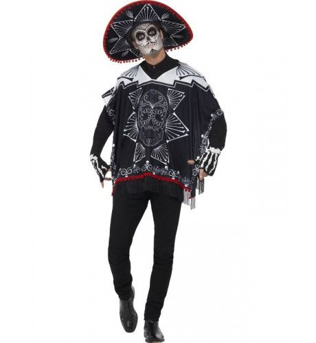 Day Of The Dead Bandido Kostuum