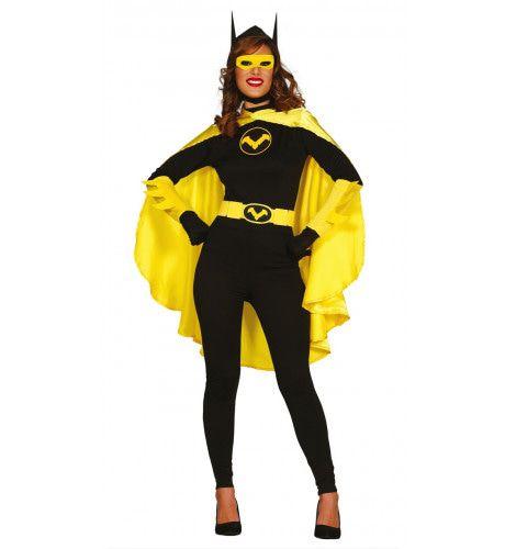Bad Batgirl Vrouw Kostuum