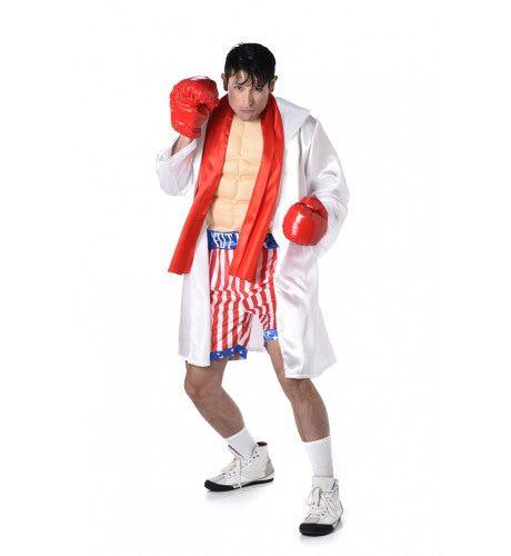 Rocky Marciano Boks Kampioen Man Kostuum