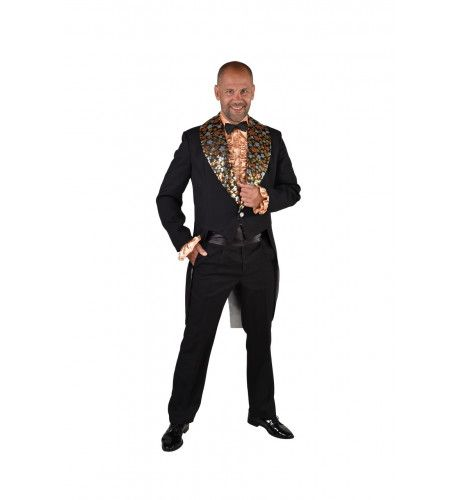 Slipjas Met Glinsterende Sterren Showmaster Man