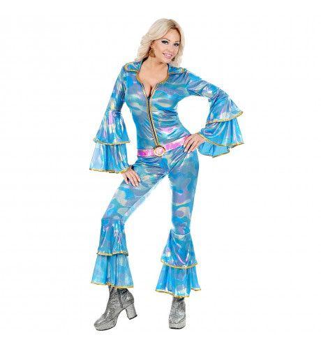 Agnetha Disco Queen Zweden Vrouw Kostuum