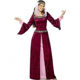 Lady Marion Vrouw Kostuum