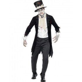 Zombie Kostuum Bruidegom Man