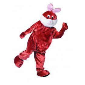 Full-Body Mascotte Paashaas Man Kostuum