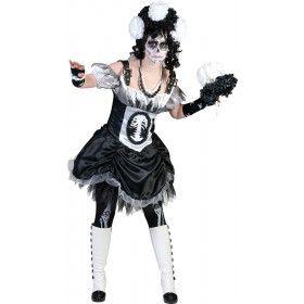 Bonny Skulla Vrouw Kostuum