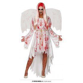 Uit De Hemel Gevallen Engel Lucifer Vrouw Kostuum