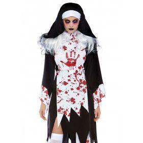 Klooster Van De Onderwereld Non Vrouw Kostuum