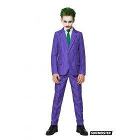 Batman Schurk The Joker Streepjes Jongen Kostuum