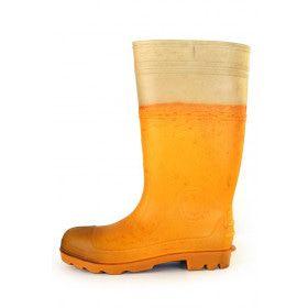 Regenlaarzen Goud Gele Rakker Bier