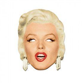 Door De Ogen Van De Verleidelijke Marilyn Monroe Masker
