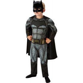 Geeft Geen Moer Om Gevaar Batman Justice League Deluxe Jongen Kostuum