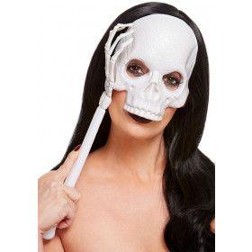 Schedel Op Een Stokje Masker