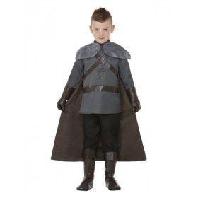 Deluxe Middeleeuwse Lord Godart Jongen Kostuum