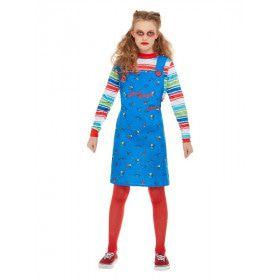 Vreselijke Jaloerse Vriendin Chucky Meisje Kostuum