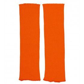 80s Hottie Beenwarmers Neon Oranje