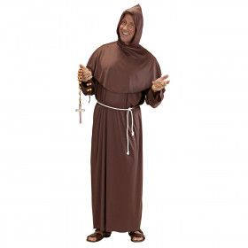 Gezellige Pater Kostuum Man