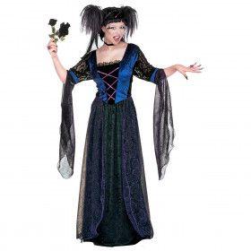 Gothic Princess Luxe Gothica Kostuum Vrouw