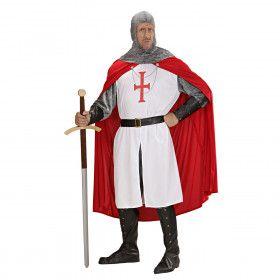 Tempelier Kruisvaarder Kostuum Man