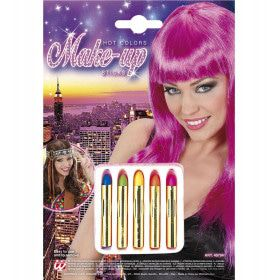 5 Hot Colours Sticks Set