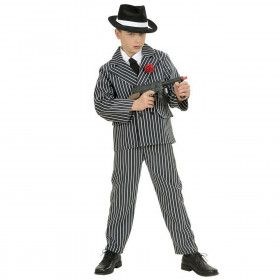Gangster Jongen Al Capone Kostuum